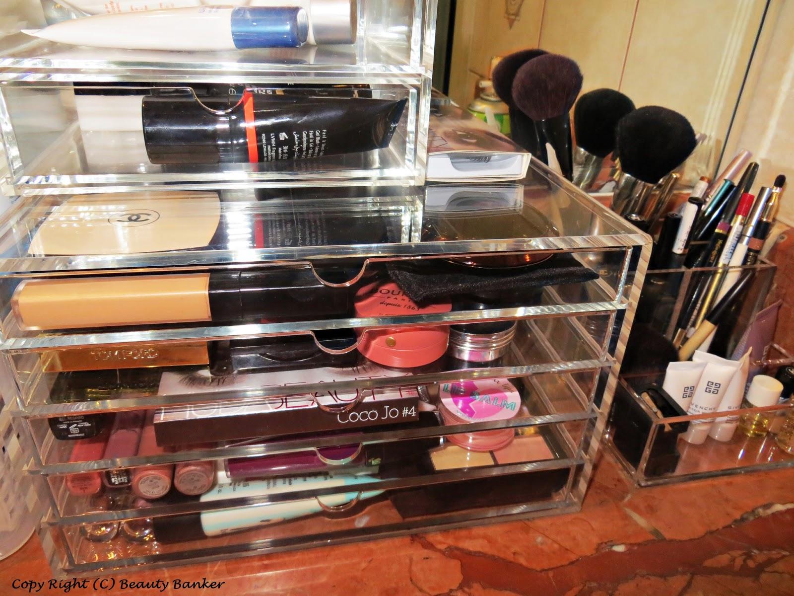 My New Makeup Storage Muji Clear Acrylic Drawers A Bit Of & Acrylic Makeup Drawers Muji - Best Drawer Model